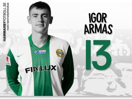 Igor Armas fick snabbt en plats i mitt hjärta.