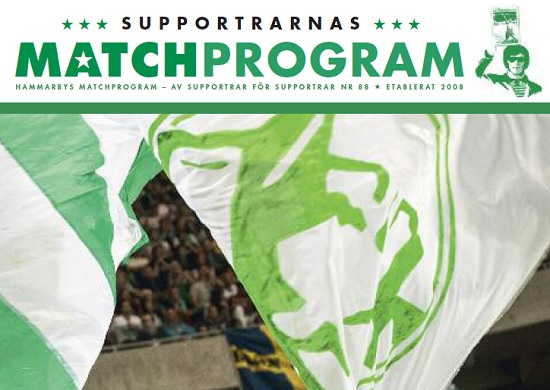 suppportrarnas matchprogram falkenberg